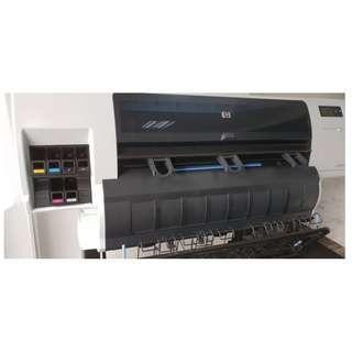 HP Designjet T7100 Plotter