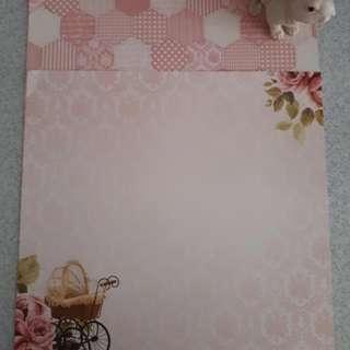 New Born Craft Paper Set 6