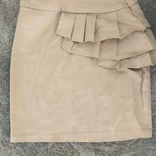 Cute detail skirt
