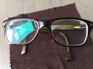 Tom Ford 眼鏡連盒連眼鏡布