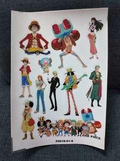 One Piece A5 sticker