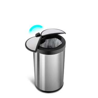 🚚 TRASH CAN 12 liters- Automatic motion sensor stainless steel trash can