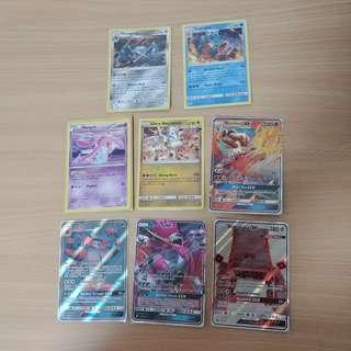 🚚 Pokemon TCG Holo foil and GX cards