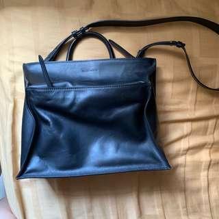Rabeanco Black Kami Shoulder Bag