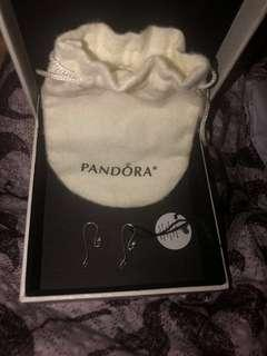 Pandora Charm Post Earrings