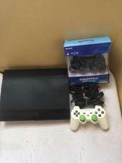 Ps3 Super slim 500 gb free 20 games