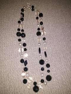 Long beaded necklace #swapAU