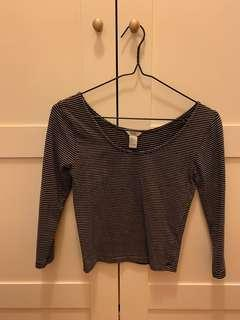 Forever21 3/4 sleeve Top