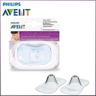 <FREE DELIVERY!> Philips AVENT Silicone Standard Nipple Protectors - Breastfeeding Latching Ease
