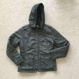 Dark Green Winter Jacket