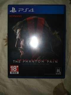 Metal Gear Solid V Phantom Pain PS4