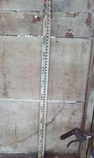 Sokkia tripod dan measuring staff (japan)