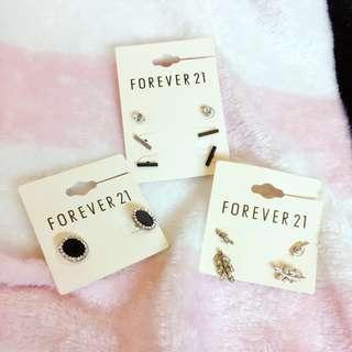 Assorted Forever 21 Earrings #MMAR18