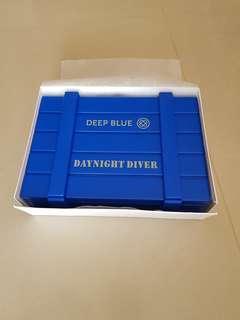🚚 Deep Blue Ammo Watch Box