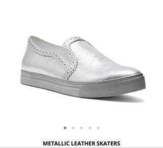 Brand new Pedder Red silver skater shoes