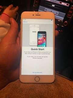 Iphone 6splus 64gb rosegold