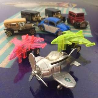 🚚 Matchbox Toy Planes & Cars