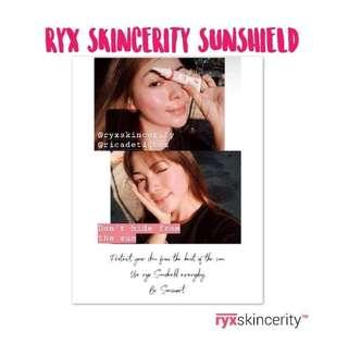 RYX Skincerity Sunshield