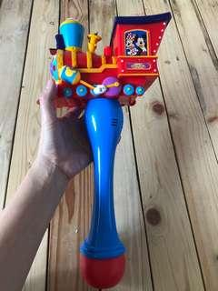 Mickey Mouse light up bubble wand