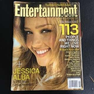Entertainment Weekly #884/885 - Jessica Alba (July 2006)