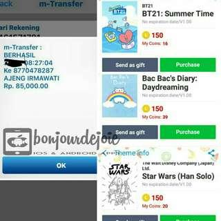 Theme Line  Star Wars Murmer