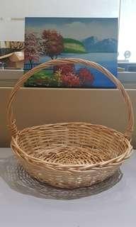 Round Hamper Basket
