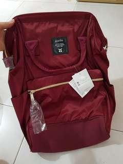 ANELLO BACKPACK MAROON COLOUR INSTOCK
