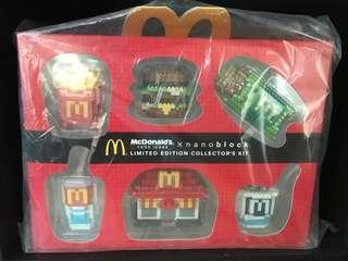 🚚 McDonald's Nanoblock limited edition collector's kit