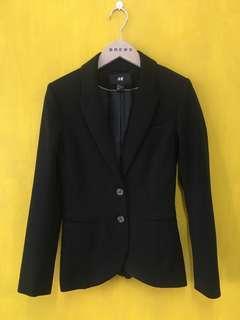 🚚 HM立體西裝外套/工裝