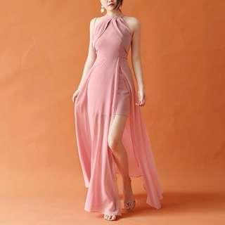 🚚 Dusty Pink Evening Gown