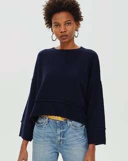Topshop Supersoft Jumper with Side buttons