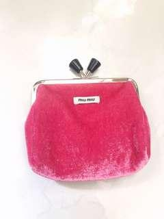 Miu miu purse 桃紅色