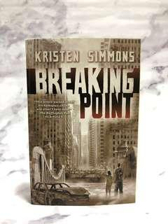 Kristen Simmons - Breaking Point (Article 5, #2) Book #MMAR18