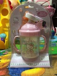 Hello Kitty連飲管水杯
