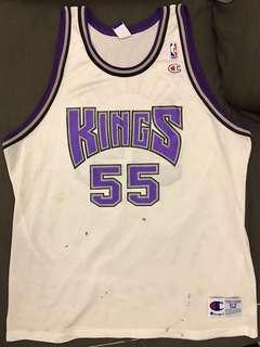 Champion Jason Williams Sacramento Kings 55 NBA jersey XXL - hardwood classics Adidas Jordan