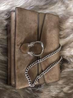 Authentic Gucci Dionysus Taupe Medium Bag