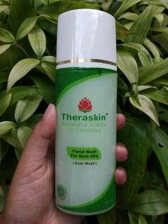 New theraskin facial wash for acne skin