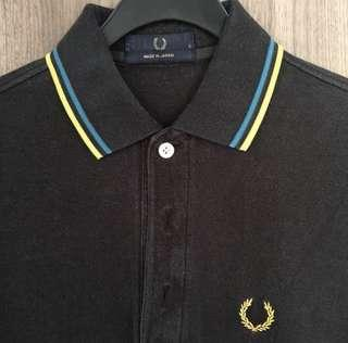 Fred Perry Polo Tee shirt ( made in japan )