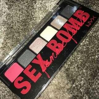 Nyx sex bomb palette