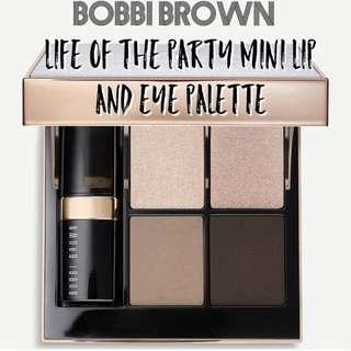 Bobbi Brown Life of the Party mini lip and eye palette