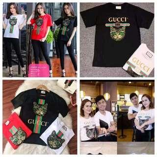 Gucci Cat sequins shirt