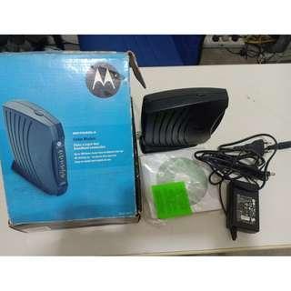 Super Fast Cable Modem Surf Board Motorola