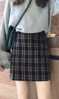 🚚 Korean School Girl Ulzzang Skirt