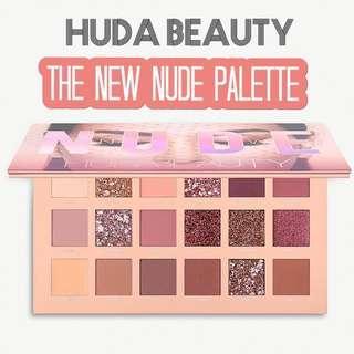 HUDA BEAUTY The New Nude Palette