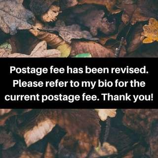 Current Postage Fee