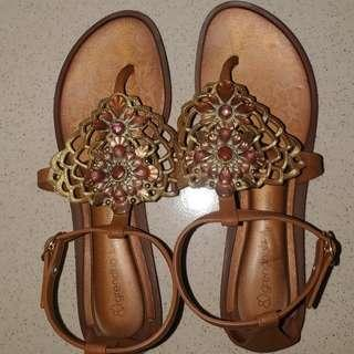 Grendha sandals Size 7 Slightly used