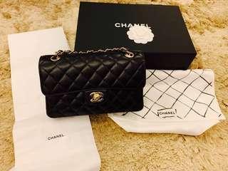 Chanel Classic Flap Small Black Caviar GHW