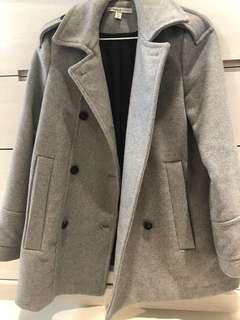 Zara灰挺經典外套 大衣