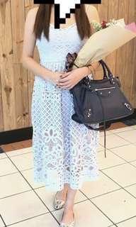 🚚 FYN Crochet Midi Dress