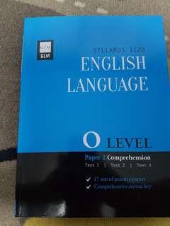 GLM O Level EL(1128) P2 Comprehension Practice Papers
